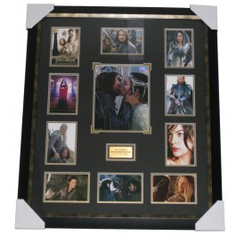 Lord of the Rings signed photo framed authentic Image Full View