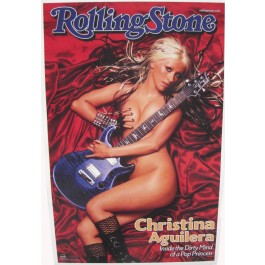 Christina Aguilera Rolling Stone Poster