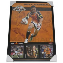 Benji Marshall poster framed Image Full View