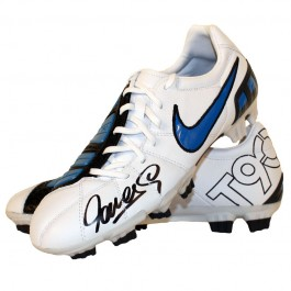 Fernando Torres signed boot image full view