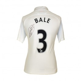Gareth Bale signed Tottenham jersey image full view