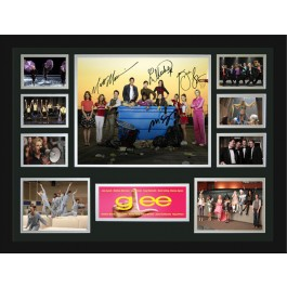Glee signed photo framed memorabilia Image Full View