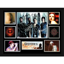 Godsmack signed photo framed memorabilia image full view
