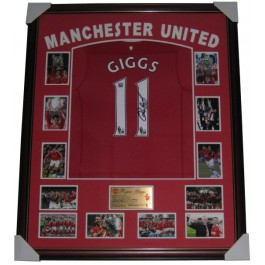 Ryan Giggs Signed Manchester United Jersey authentic Image Full View