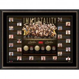 Hawthorn Hawks 2015 Dual Signed 2015 Lithograph