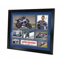Jorge Lorenzo signed photo Moto GP image