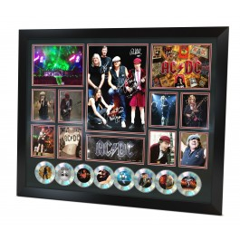 ACDC signed Photo Framed image