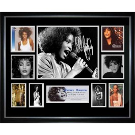 Whitney Houston signed photo authentic memorabilia
