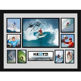 Kelly Slater signed photo image full view
