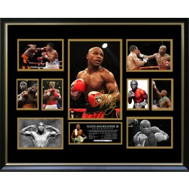 Floyd Mayweather JR signed photo memorabilia image full view