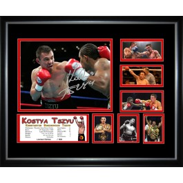 Kostya Tszyu boxing Memorabilia Limited Edition Framed image full view