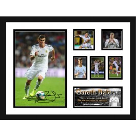 Gareth Bale Real Madrid signed photo
