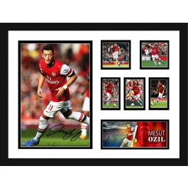 Mesut Ozil signed Photo image full view