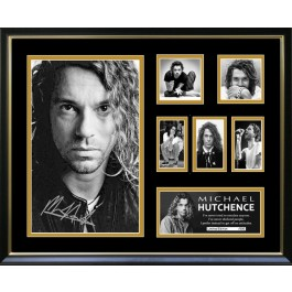 Michael Hutchence signed photo framed memorabilia