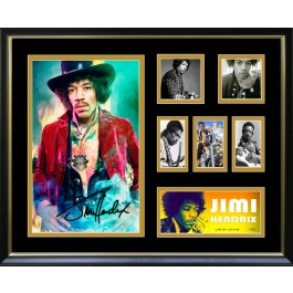 Jimi Hendrix signed photo framed memorabilia image