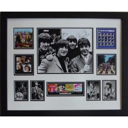 The Beatles Framed Memorabilia Limited Edition image