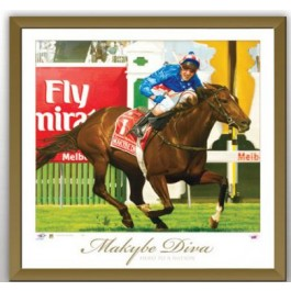 Makybe Diva Racing Memorabilia image full view