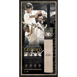 Michael Clarke image - Signed Retirement Bat Farewell To A Legend