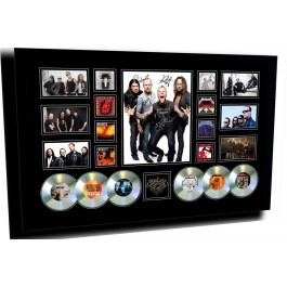 Metallica signed Photo Framed image