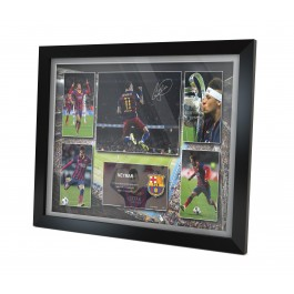 Neymar signed Barcelona Photo
