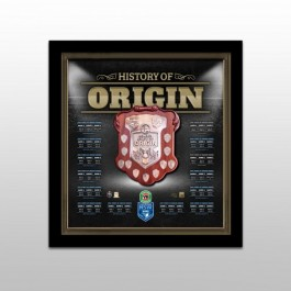 New South Wales Blues Origin Framed Shield