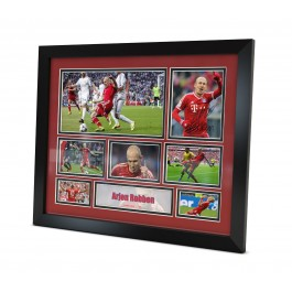 Arjen Robben signed Photo image