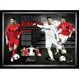 Cristiano Ronaldo signed photo Memorabilia image
