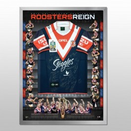 Sydney Roosters signed jersey 2013 Premiers