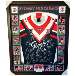 Sydney Roosters Signed 2019 Jersey image Premiers