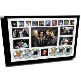 The Rolling Stones Memorabilia Framed