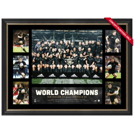 All Blacks 2015 RWC Champions Poster