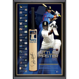 Sachin Tendulkar Signed Bat - Retirement Memorabilia