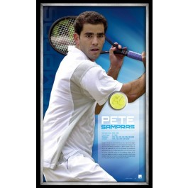 Pete Sampras Signed Tennis Ball image full view
