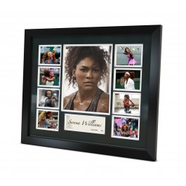 Serena Williams Memorabilia Limited Edition Framed image