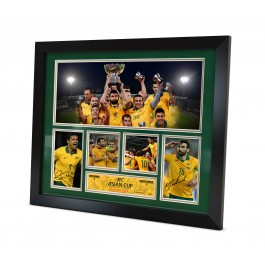 Socceroos 2015 Signed Memorabilia AFC Asian Cup image