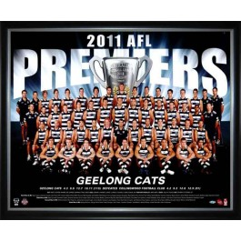 Geelong Cats 2011 AFL premiers poster image full view