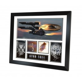 Star Trek signed photo Framed image