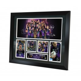 Melbourne Storm Signed 2017 Photo image