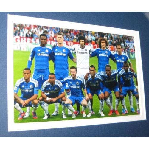 Champions League Final 2012: Chelsea FC 2012 Memorabilia Champions League Autographs