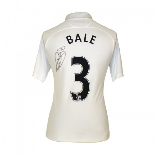 the latest 67f7e 34a18 Gareth Bale signed Tottenham Hotspur Jersey