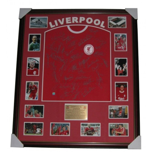 853f5c1bc Liverpool FC signed Legends jersey Memorabilia authentic Image Full View