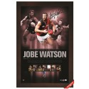 Jobe Watson signed 2012 Brownlow Lithogram