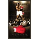 Muhammad Ali signed Glove framed