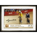 Anna Meares Signed Photo Cycling gold
