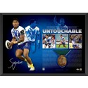 Ben Barba signed Dally M Memorabilia