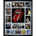The Rolling Stones signed photo poster