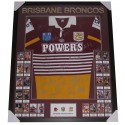 Brisbane Broncos Legends Signed Jersey Memorabilia