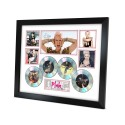 Pink 4 Cd Memorabilia Framed