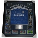 Chelsea FC 2012 squad signed jersey Champions League