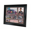 Jamie Whincup signed photo Framed Memorabilia